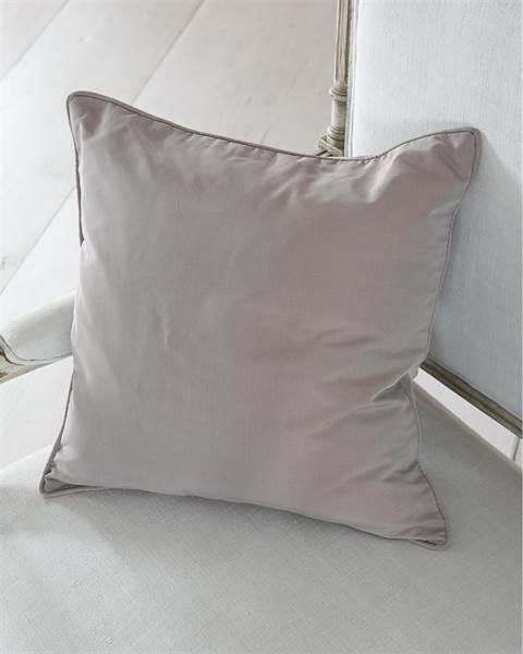 Faux Silk-Kissenhülle mauve