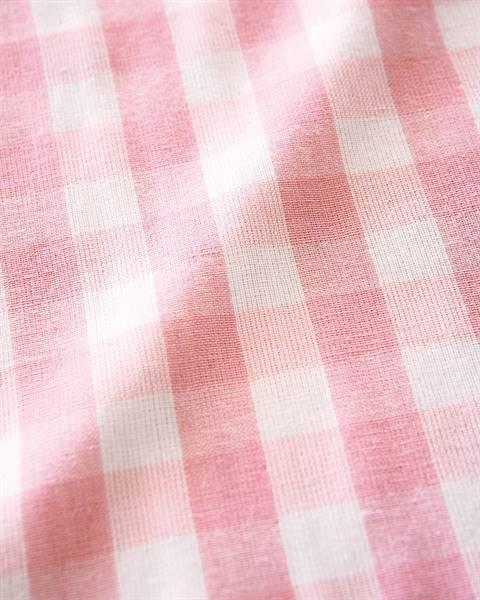 Vorhang Ginghamkaro rosa