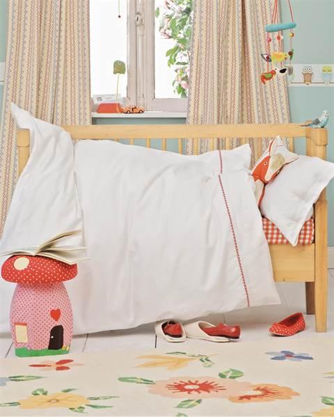 Kinderbettwäsche mit Paspel