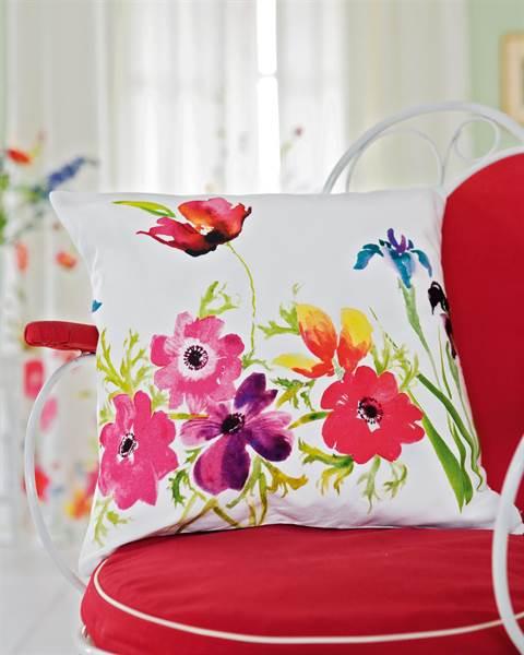 Kissenhülle Blumenreich