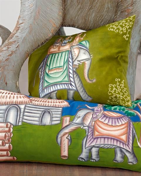 Kissenhülle Elefant
