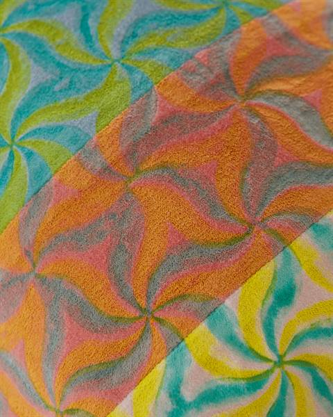 Patchwork-Kissenhülle Lalita Detail