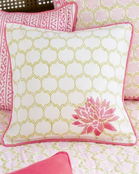Kissenhülle Lotus-Blüte