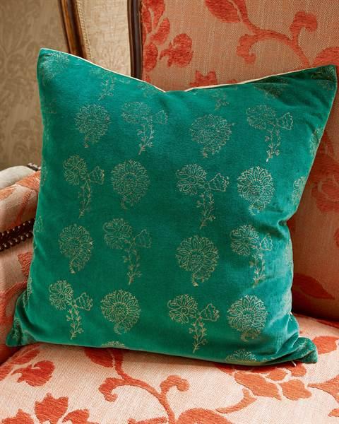 Kissenhülle Smaragd