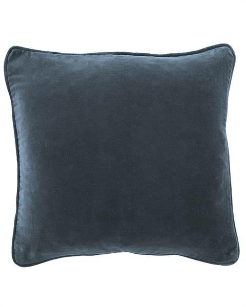 Kissenhülle, blau, weiche Baumwolle