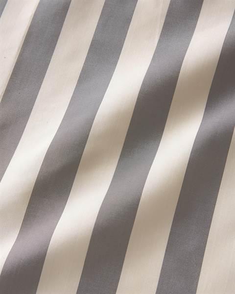 Streifenvorhang anthrazit-creme