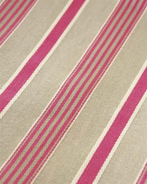 Streifenvorhang beige-pink