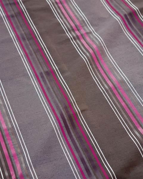 Streifenvorhang lila-braun-pink