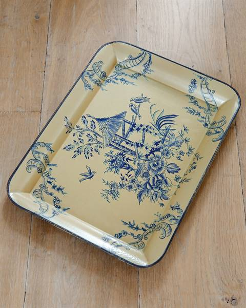 Tablett Chinoiserie