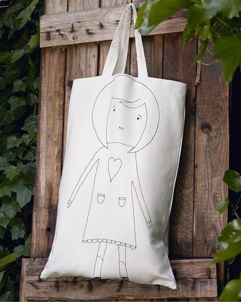 Tasche Mädchen mit Herz