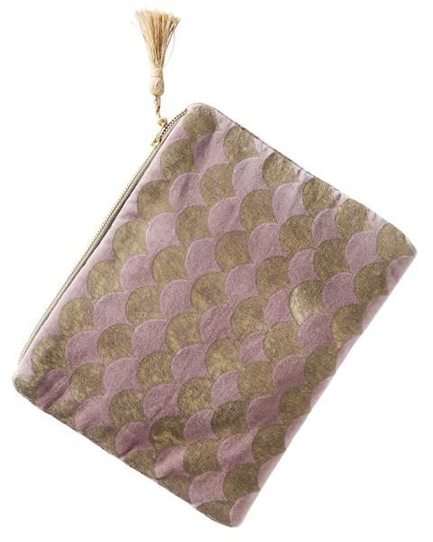 Tasche mit Troddel, Baumwolle