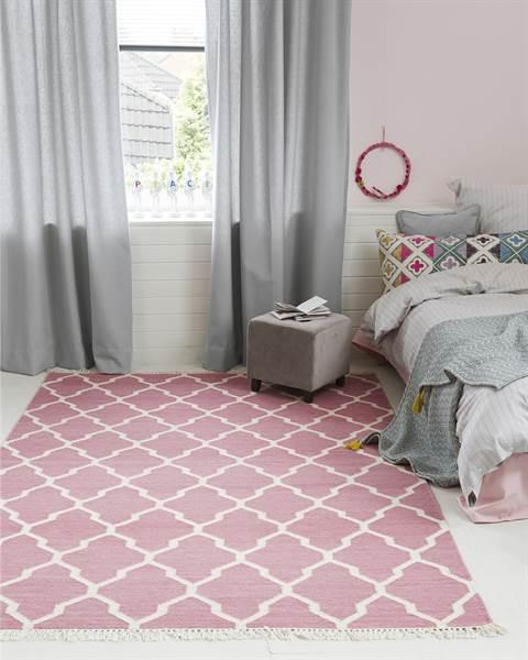 Teppich, helles Pink