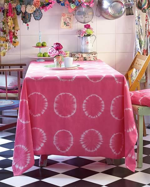 Tischdecke Batik - Kreis