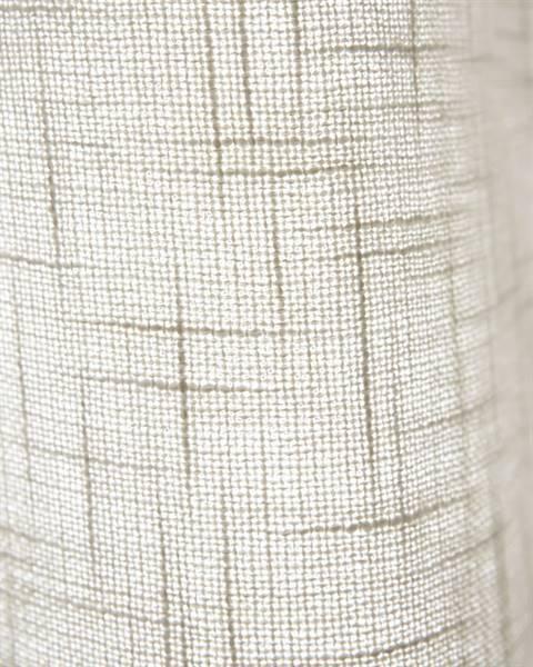 Vorhang Leinenoptik creme