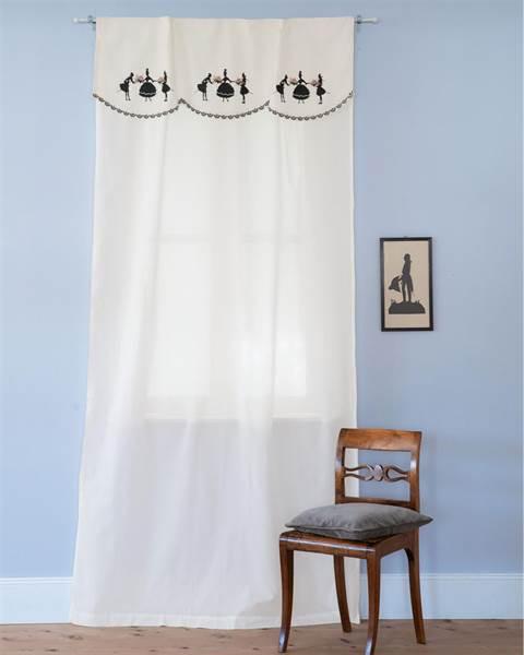 Vorhang Biedermeier