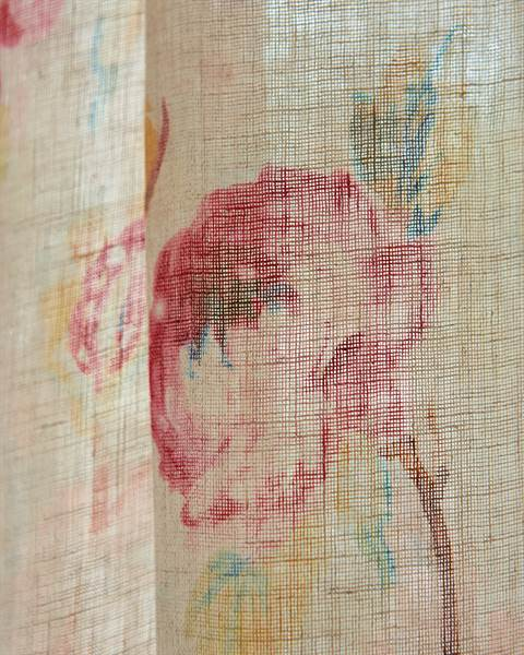 Vorhang Blütenmeer Detail