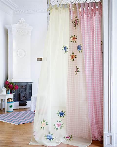 Vorhang Blütenzauber 2
