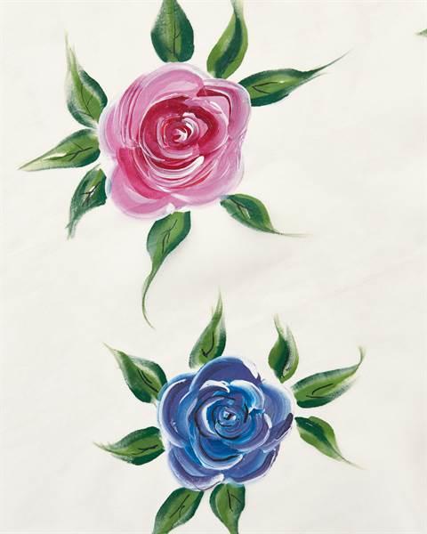 Vorhang Blütenzauber Detail