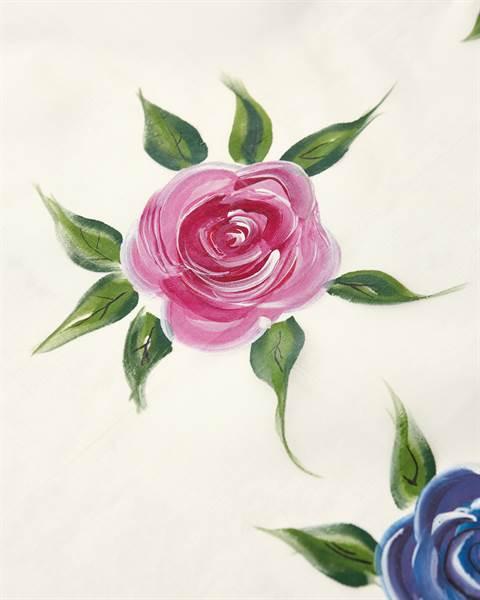 Vorhang Blütenzauber Detail 2