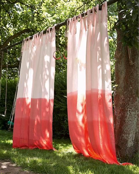 Vorhang Farbverlauf