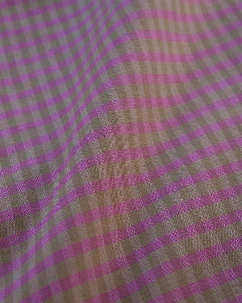 Vorhang Karo violett-braun