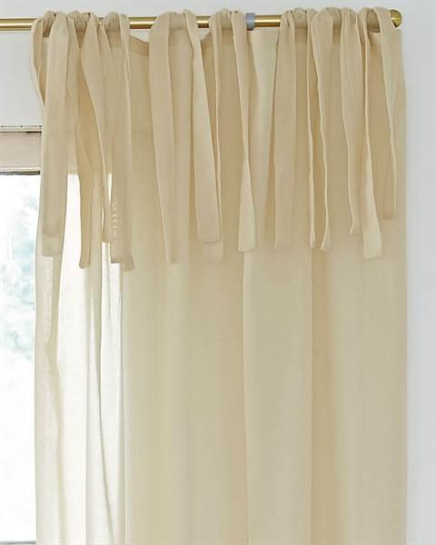 Vorhang Lumiere Aufhängung