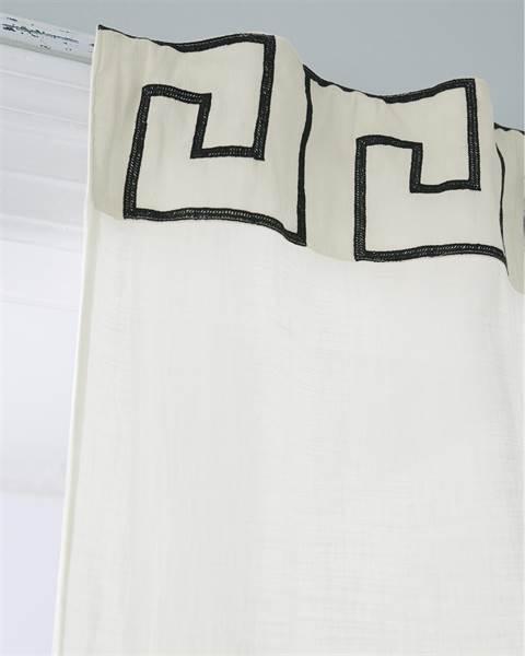 Vorhang Mäander