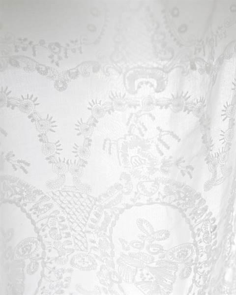 Vorhang, weiß, Baumwolle