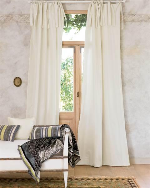Vorhang perlweiß