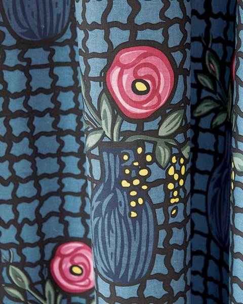 Vorhang Printemps Detail