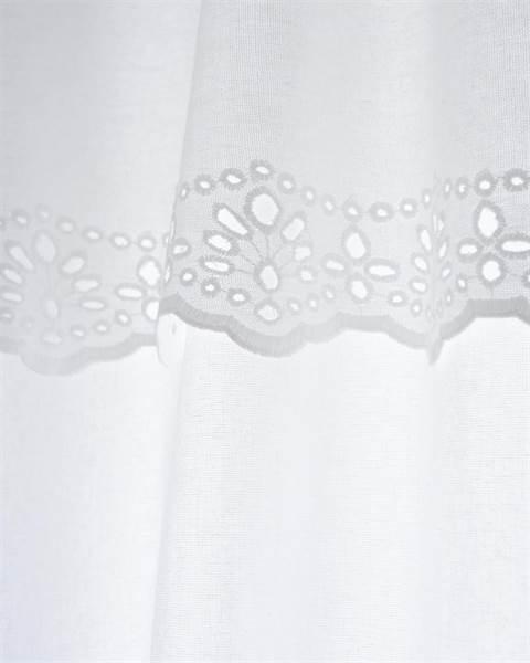 Vorhang mit Volant