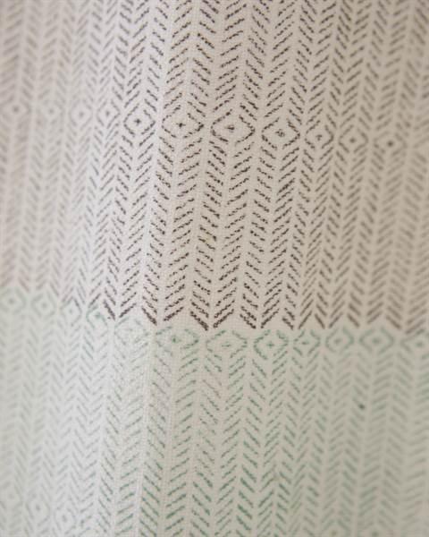 Vorhang handgewebt