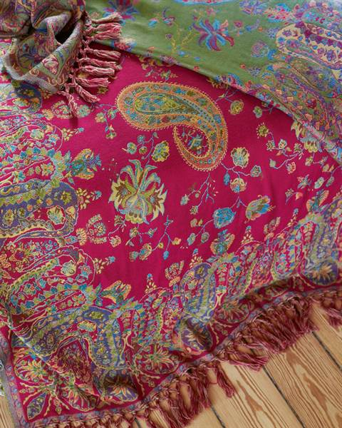 Wendeplaid Paisley Detail2
